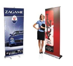 Banners and displays - pop-up a-frame print full colour